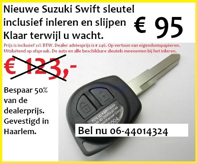 Nieuwe Suzuki Swift Autosleutel - Carkeys